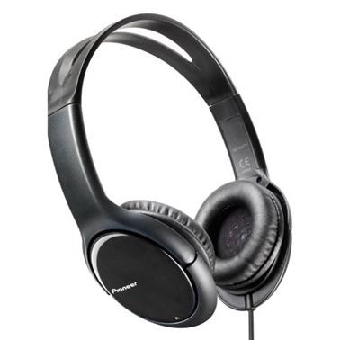 Pioneer Pioneer SE-MJ711-K Siyah Kablolu Apple Uyumlu Kulak Üstü Kulaklik Renkli